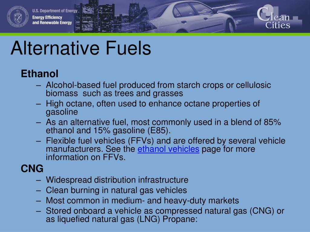 alternative fuel vehicles essay Rising prices of gasoline and fuel shortage has led to popularity of vehicles that run on alternative fuel past decade has seen great thrust on technological researches in alternative fuels.