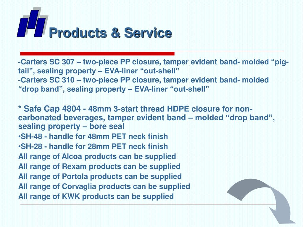 Products & Service