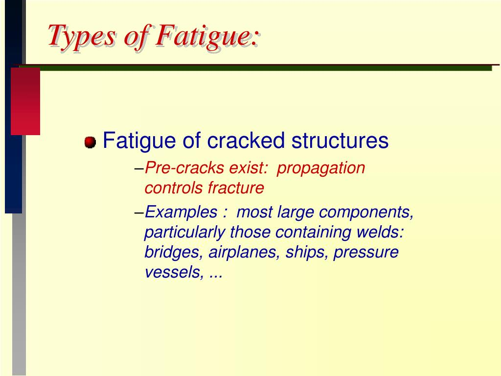 Types of Fatigue: