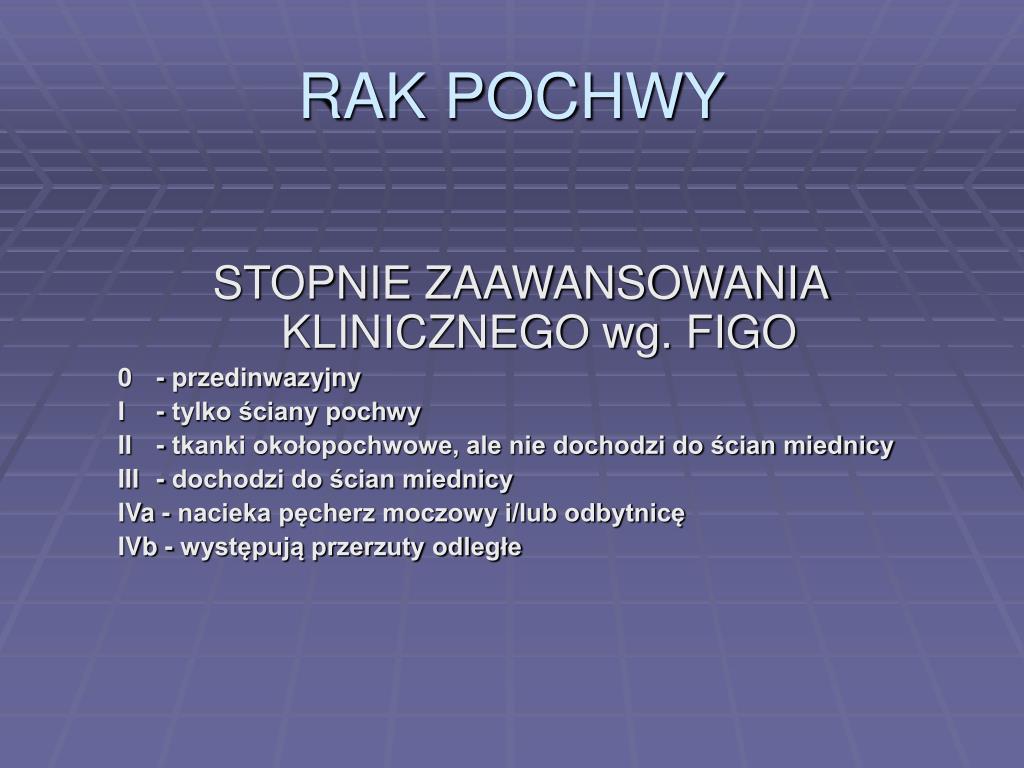 RAK POCHWY