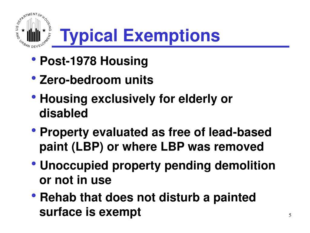 Post-1978 Housing