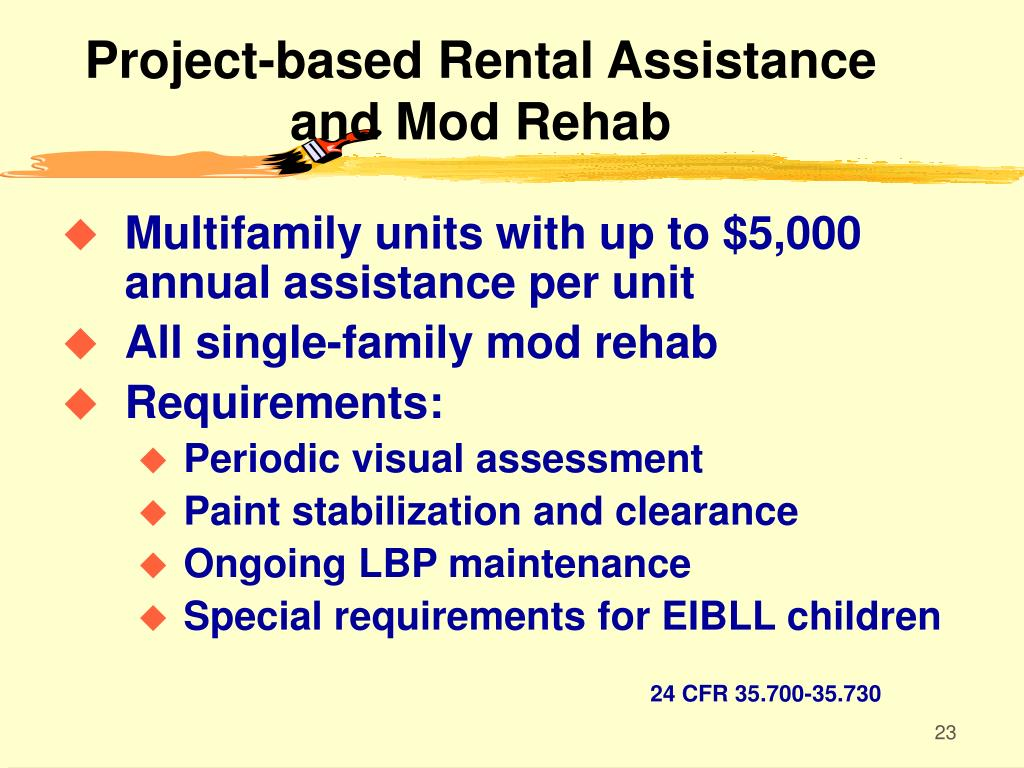 Project-based Rental Assistance