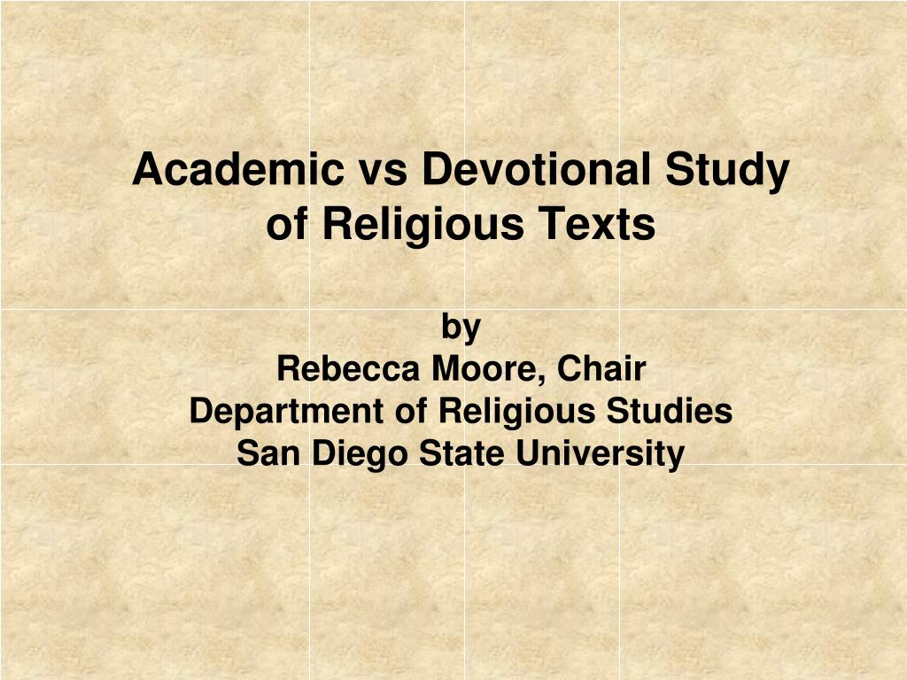 academic study of religion View academic study of religion handout-mccutcheon(1) from ast 321 at arizona state university what is the academic study of religion russell t mccutcheon department of religious.