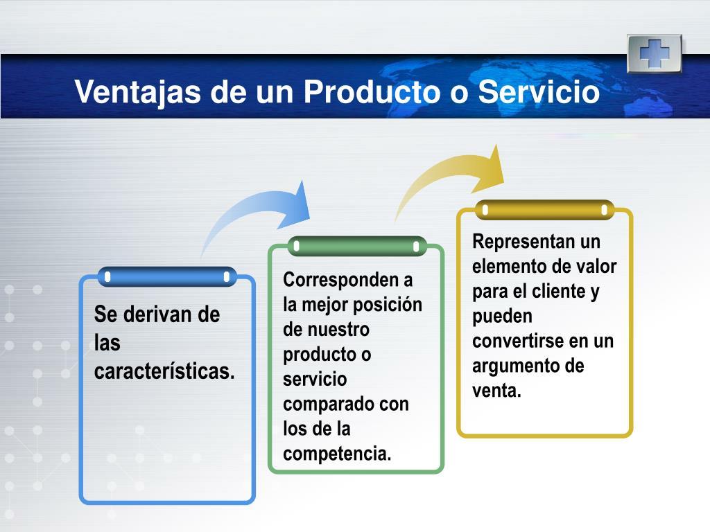 Representan un elemento de valor para el cliente y pueden convertirse en un argumento de venta.