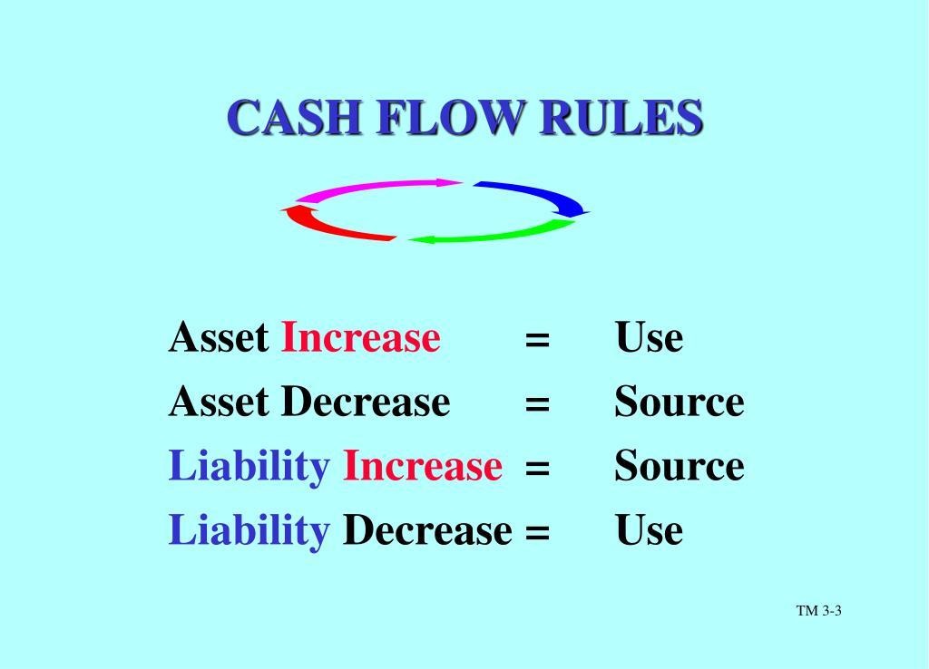 CASH FLOW RULES