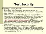 test security17