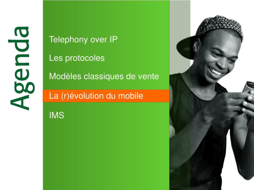 Telephony over IP