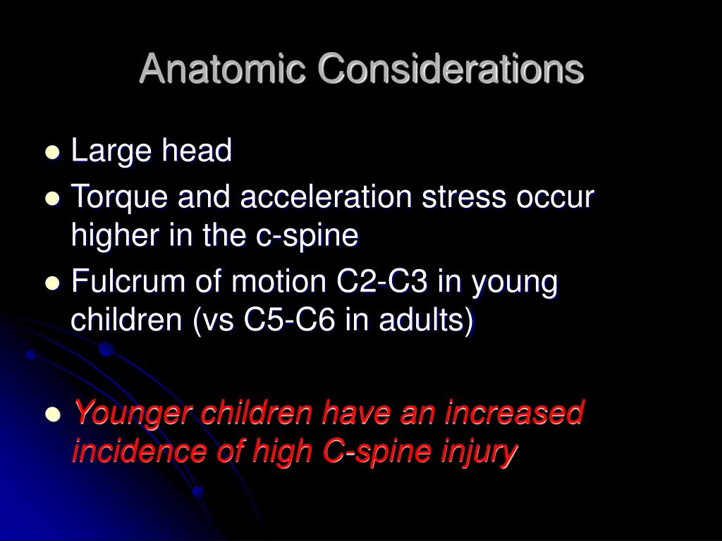Anatomic Considerations