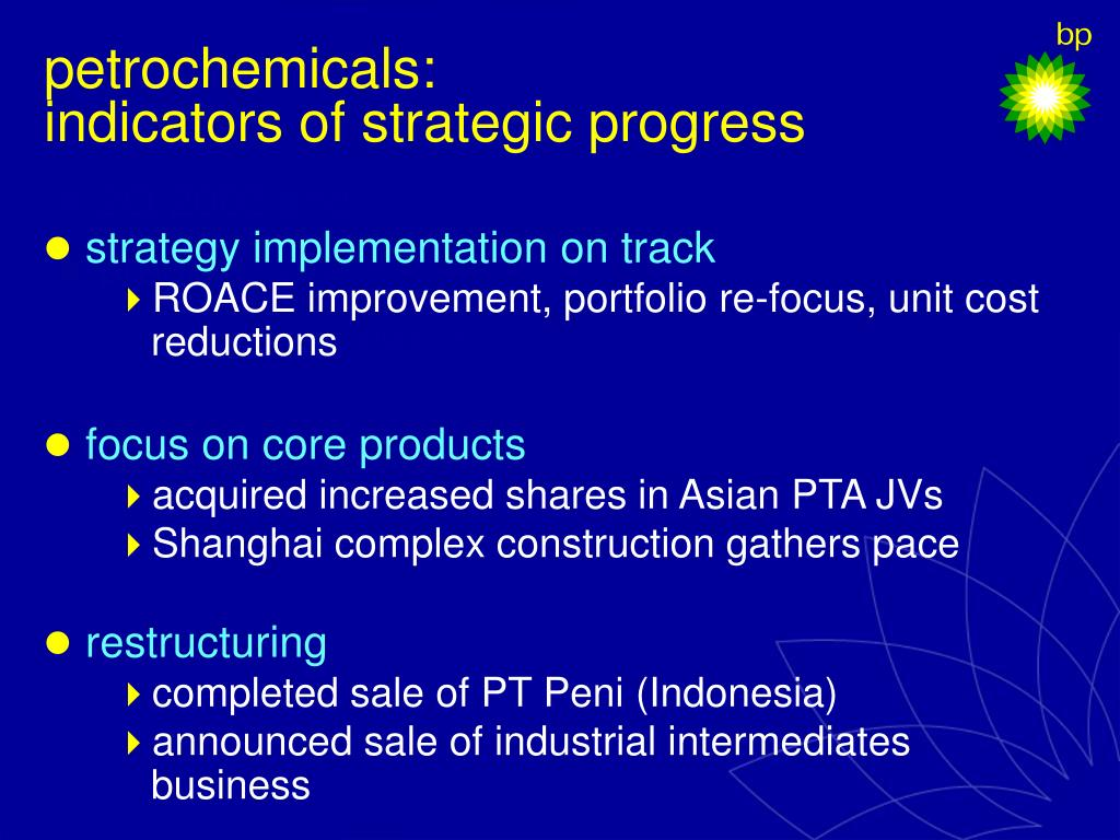 petrochemicals: