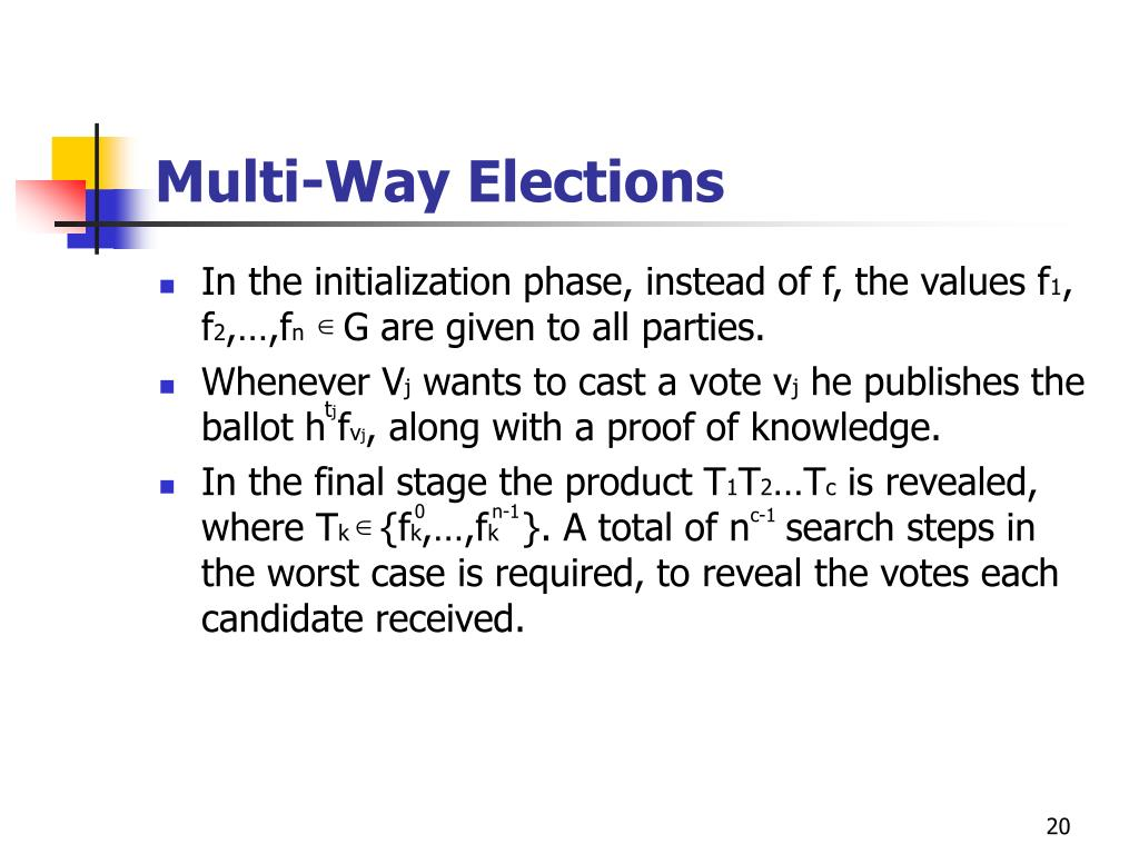 Multi-Way Elections