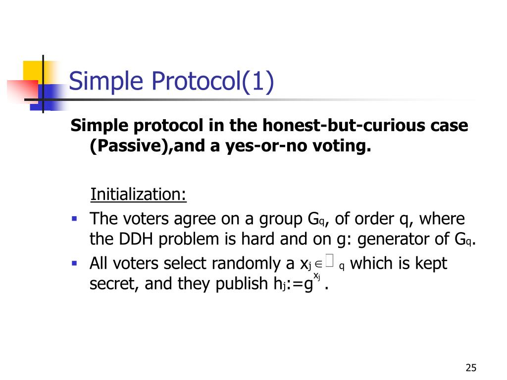 Simple Protocol(1)