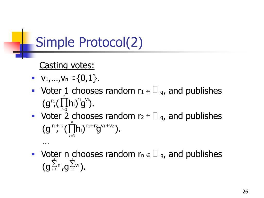 Simple Protocol(2)