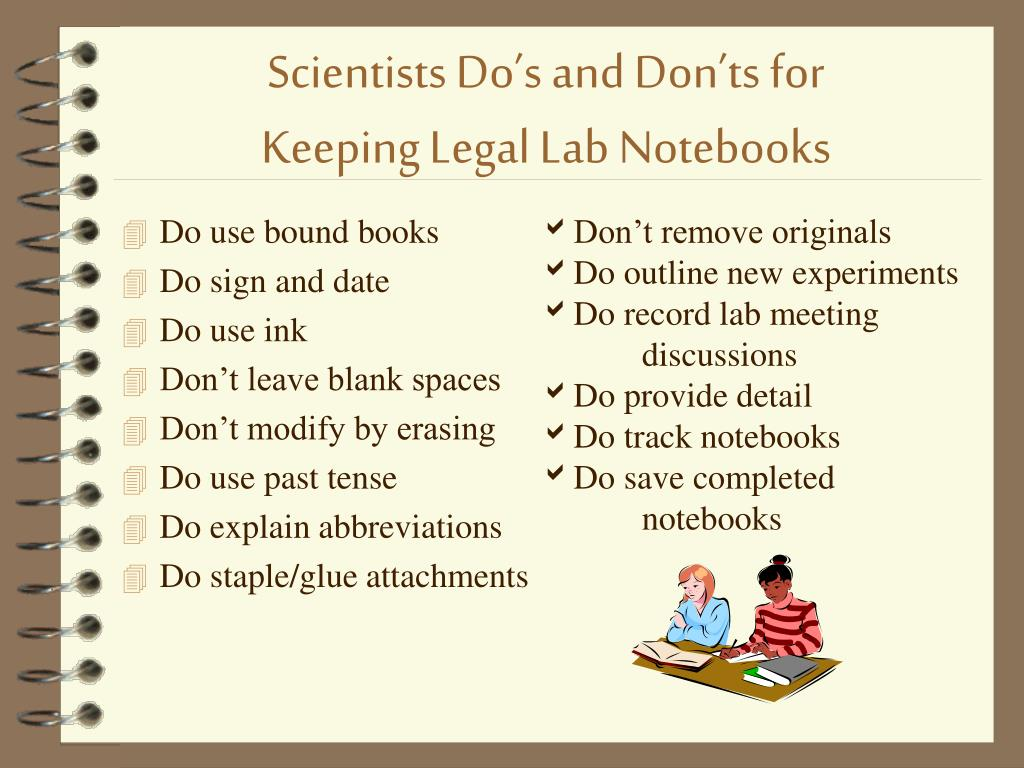 Scientists Do's and Don'ts for
