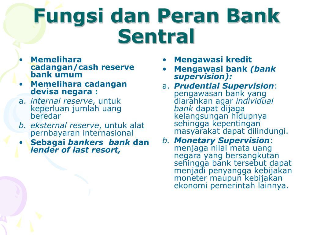 Memelihara cadangan/cash reserve bank umum