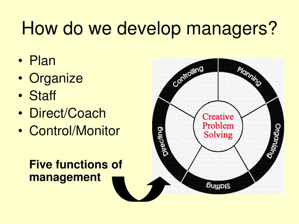 How do we develop managers?