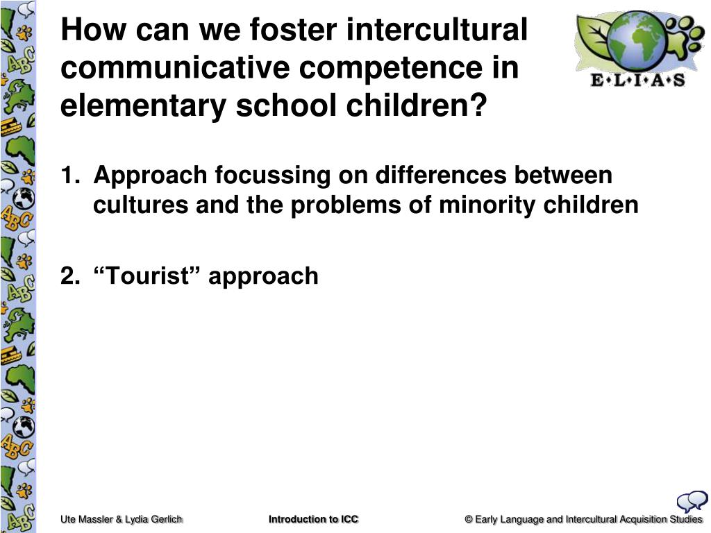 How can we foster intercultural communicative competence in elementary school children?