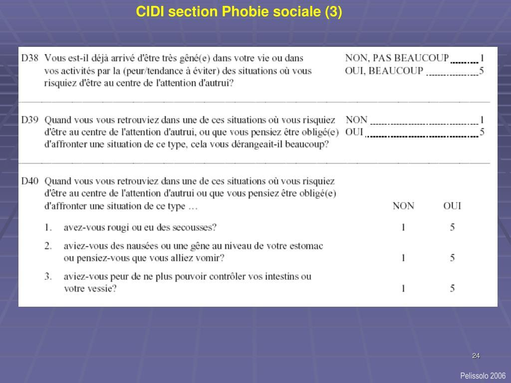 CIDI section Phobie sociale (3)