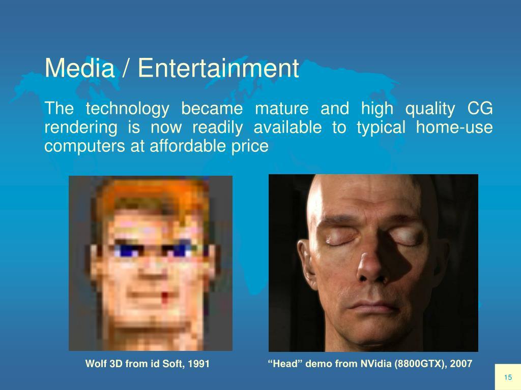 Media / Entertainment