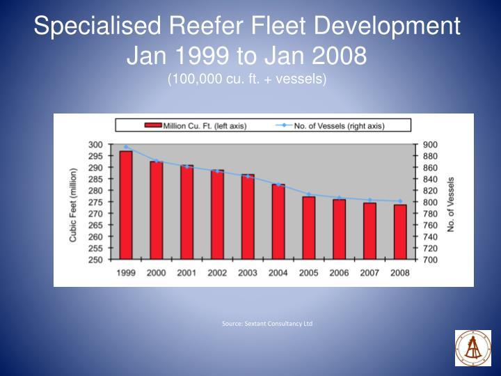 Specialised Reefer Fleet Development