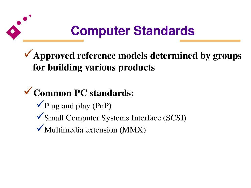 Computer Standards