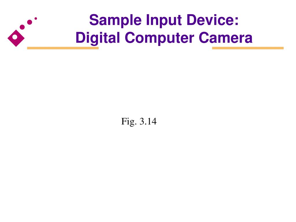 Sample Input Device: