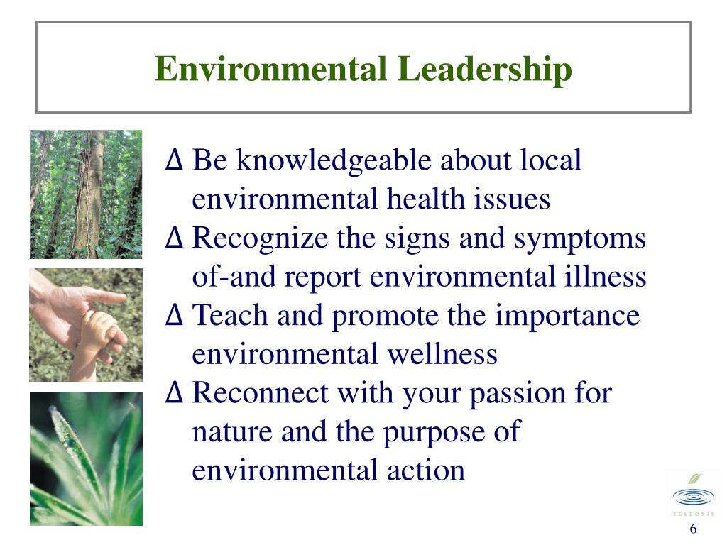 Environmental Leadership