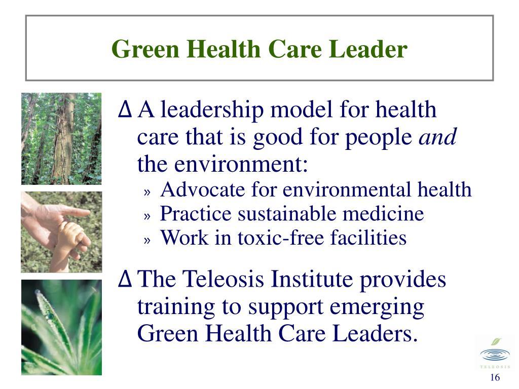 Green Health Care Leader
