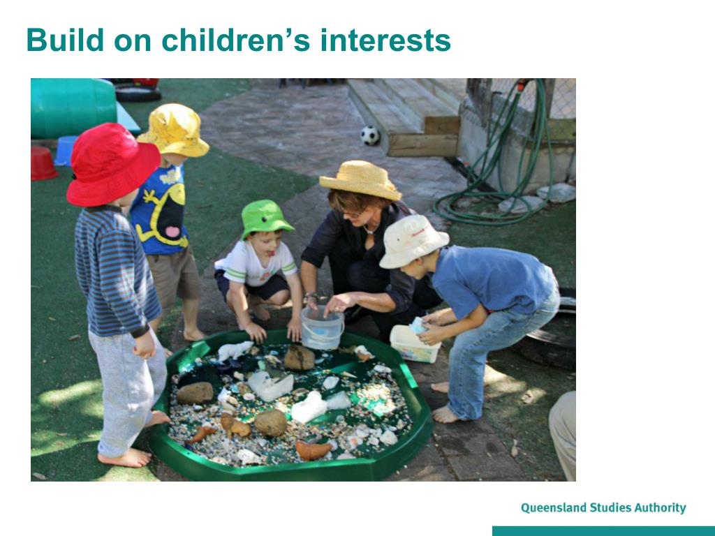 Build on children's interests