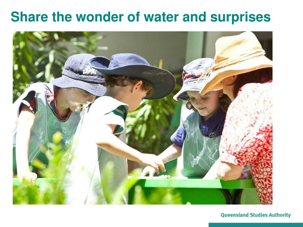 Share the wonder of water and surprises