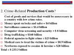 2 crime related production costs