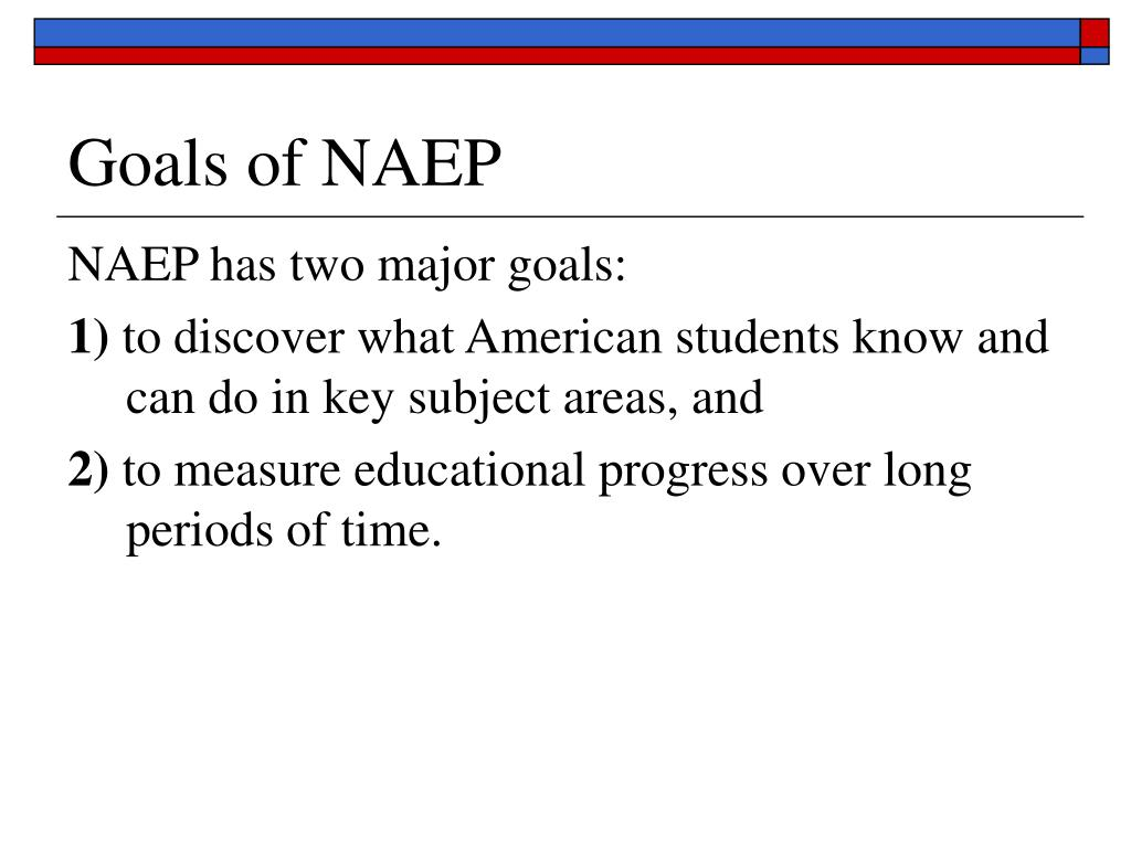Goals of NAEP