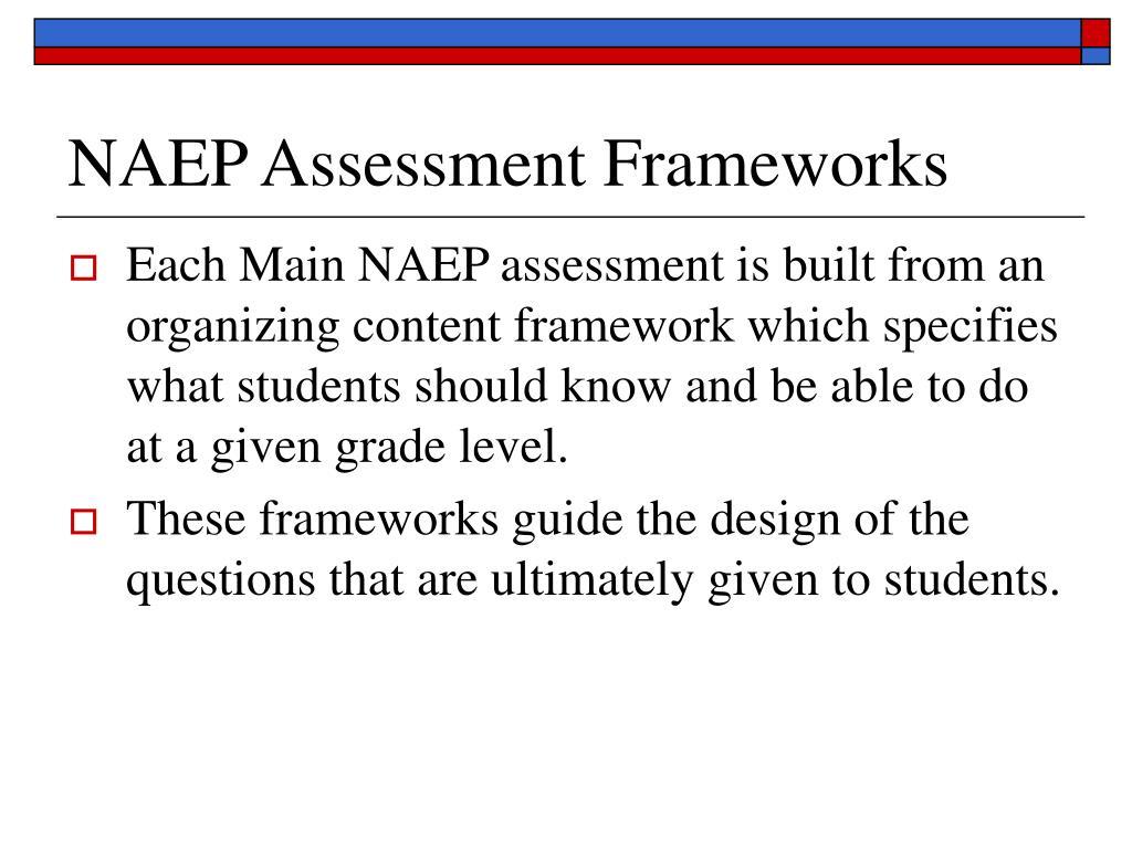 NAEP Assessment Frameworks
