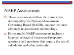 naep assessments96