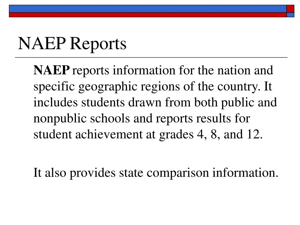 NAEP Reports