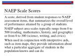 naep scale scores