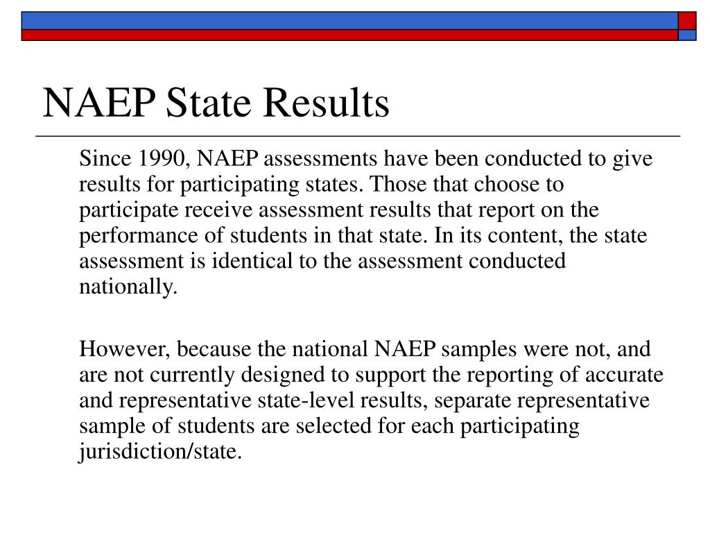 NAEP State Results