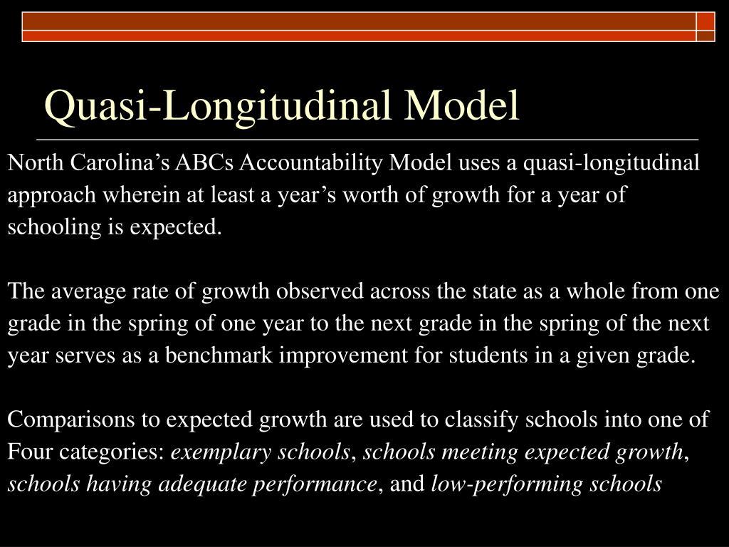 Quasi-Longitudinal Model