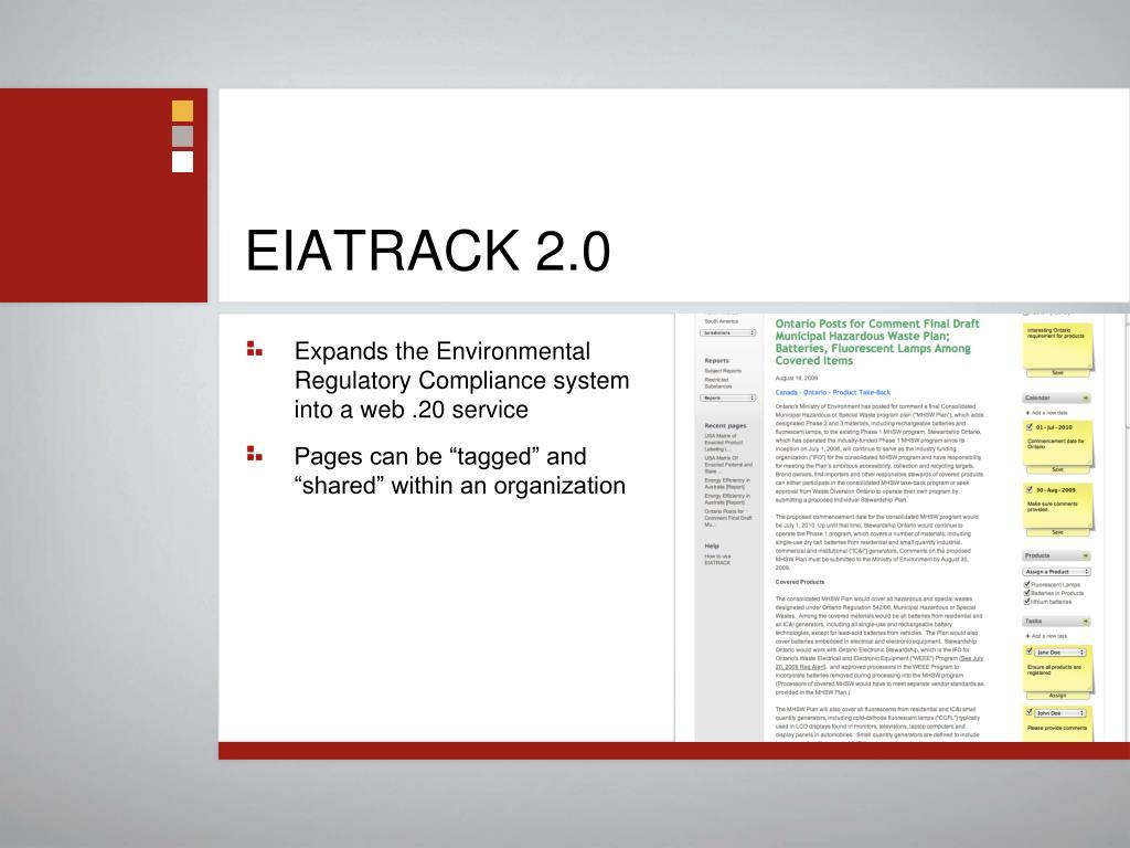 EIATRACK 2.0