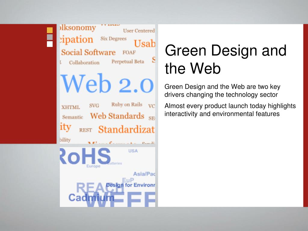 Green Design and the Web