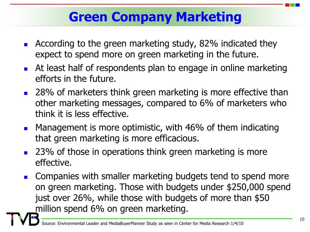 Green Company Marketing