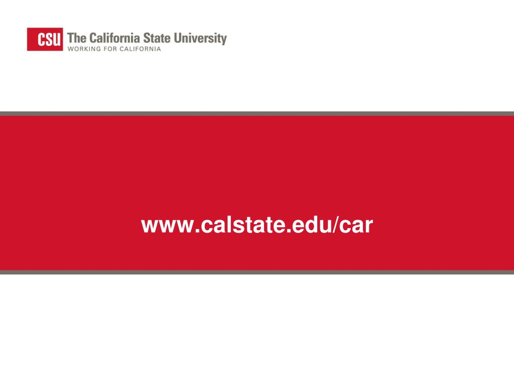 www.calstate.edu/car