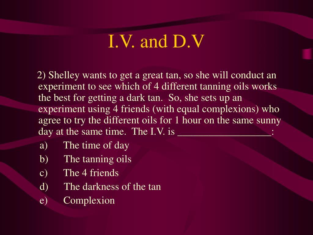 I.V. and D.V