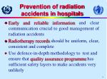 prevention of radiation accidents in hospitals15