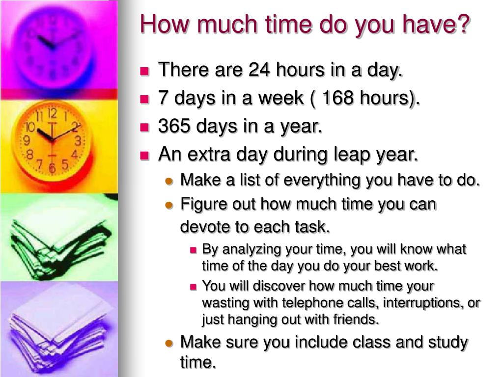 How much time do you have?