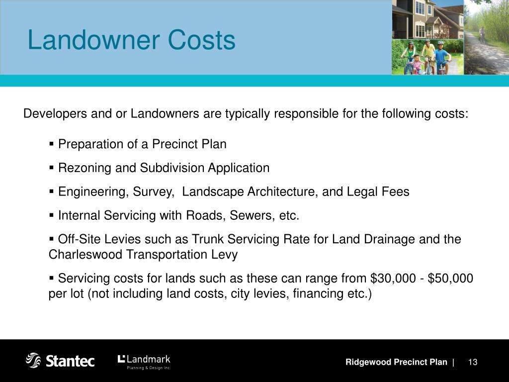Landowner Costs