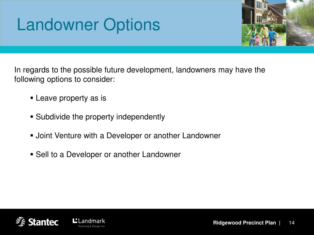Landowner Options