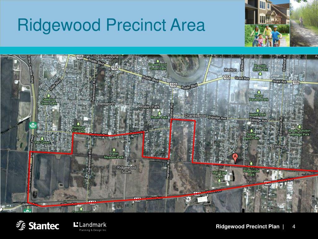 Ridgewood Precinct Area