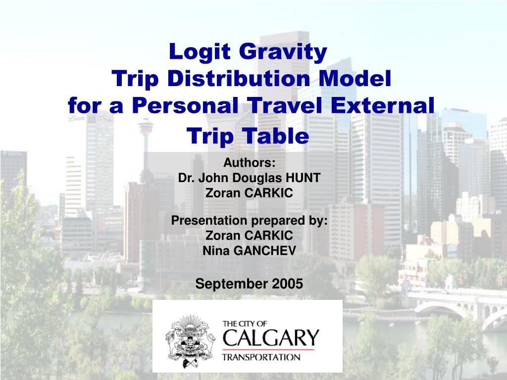 Logit Gravity