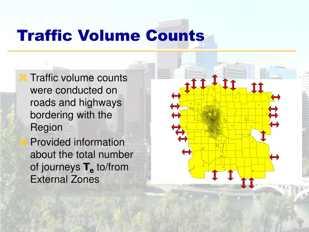 Traffic Volume Counts