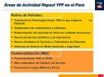 reas de actividad repsol ypf en el per6